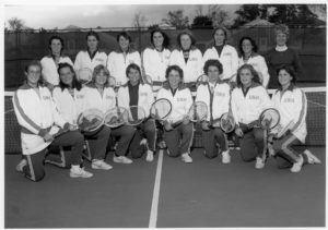 1979-1980 UNH Women's Tennis team