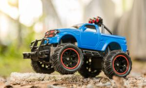 Blue Monster Truck